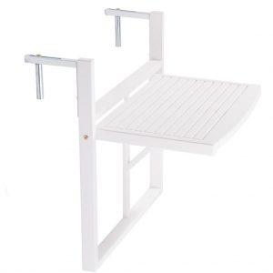 LODGE Balkonový skládací stůl - bílá