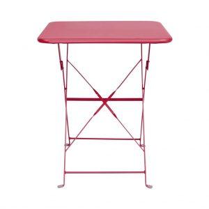 DAISY JANE Skládací stůl - červená