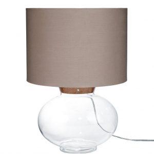 LUCYStolní lampa - šedohnědá