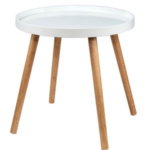 SWING TIME Příruční stolek - bílá