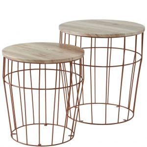 TABLE TALK Stolek set 2 ks
