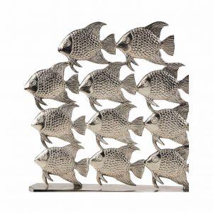 SILVER NATURE Dekorace hejno ryb 40 cm