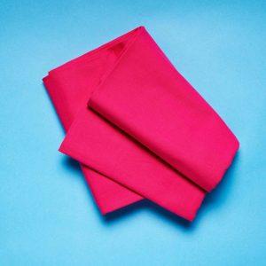 SOLID Ubrus 140x140cm - růžová