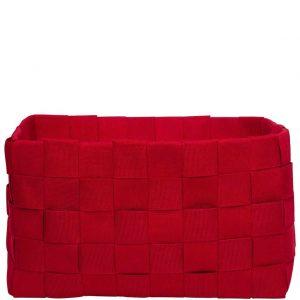 CHESS Látkový košík - červený