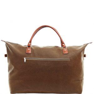 PACK & RIDE Cestovní taška - hnědá