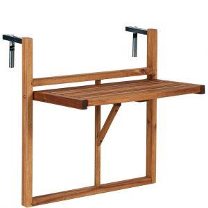 LODGE Balkonový skládací stůl - přírodní