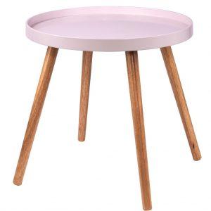 SWING TIME Příruční stolek - růžová