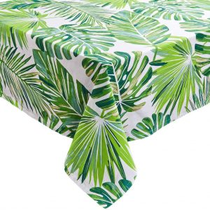 PALM SPRINGS Ubrus listy 160 x 160 cm