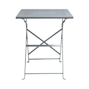 PATTERTON PARK Skládací stůl - šedá