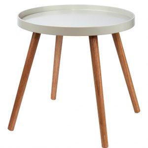 SWING TIME Příruční stolek - šedá