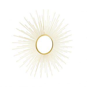 BOHO Zrcadlo slunce 70 cm