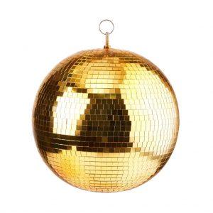DISCO Disco koule - zlatá