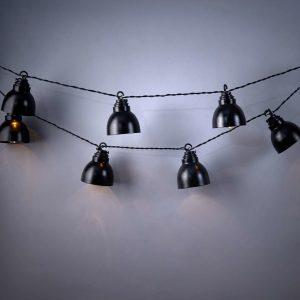 WAREHOUSE Světelný řetěz s lampami 10 světel