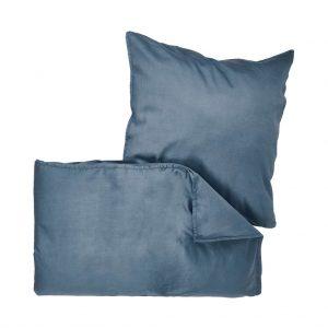 BEDTIME Povlečení 135 x 200 cm / 80 x 80 cm - modrá