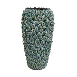 UNICO Keramická váza vzor list 28 cm