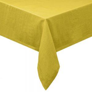 COLORÉ NATURE Ubrus 160 x 200 cm - žlutá