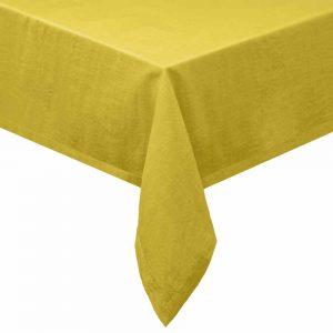 COLORÉ NATURE Ubrus 160 x 250 cm - žlutá