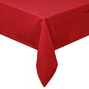 COLORÉ NATURE Ubrus 160 x 160 cm - červená
