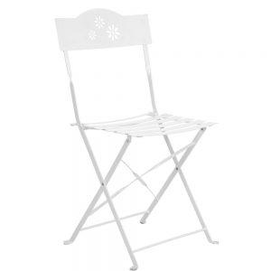 DAISY JANE Skládací židle - bílá