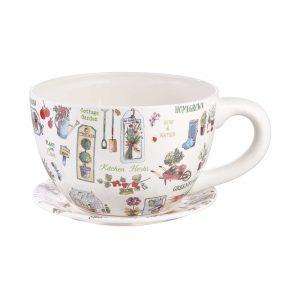 PLANT A CUP Květináč XL bylinky