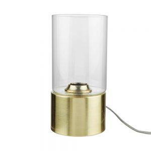 STILO Stolní lampa se skleněným stínítkem 12 cm