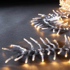 BRIGHT LIGHTS Světelný řetěz klubko 576 světel - čirá