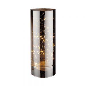 LUMINO LED Skleněná lampa zrcadlová 12 cm