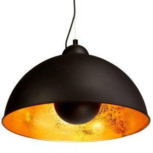 SATELLIGHT Závěsná lampa - černá/zlatá