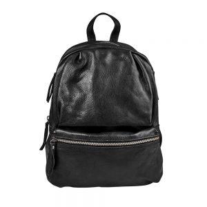BOUTIQUE Batoh kožený - černá