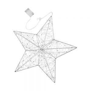 SHINING STAR LED 3D Svítící dekorační hvězda k zavěšení
