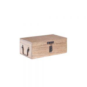 TREASURE ISLAND Dřevěná truhla velikost S