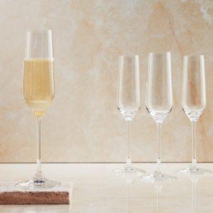 SANTÉ Sada sklenic na šampaňské 180 ml 6 ks