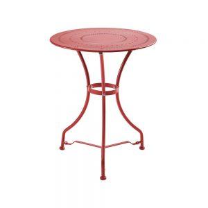CENTURY Zahradní stůl - červená