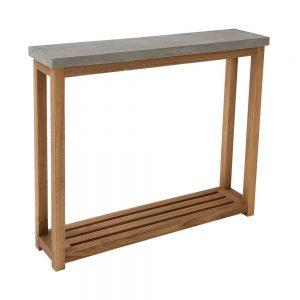 CONCRETE Konzolový stolek s betonovou deskou