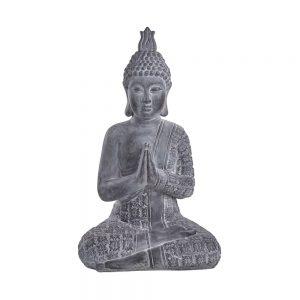 BUDDHA Soška sedícího Buddhy 71 cm