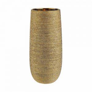 ASTRID Váza 38 cm - zlatá