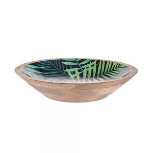 TROPICAL Dekorační talíř Dark Jungle 35 cm
