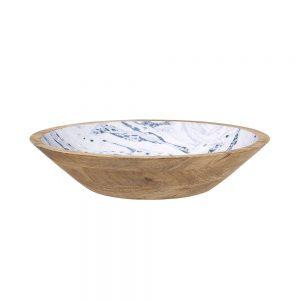 MAGNIFERA Dekorační talíř mramorový 35 cm