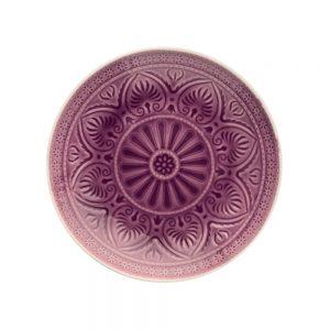SUMATRA Sada talířů 25 cm 4 ks - fialová
