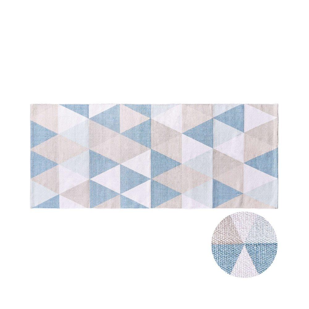 SILENT DANCER Běhoun trojúhelníky 70 x 170 cm