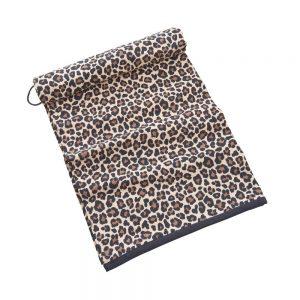 CAMPS BAY Plážová osuška leopardí vzor 180 x 90 cm