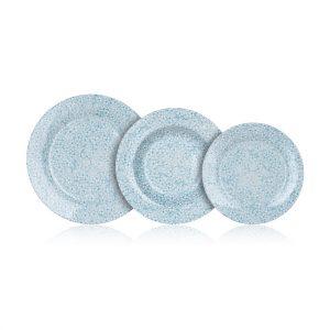 Banquet Sada talířů BLUE MEADOW