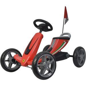 Buddy Toys PT 2001 Ferrari Go Kart Šlapací kára