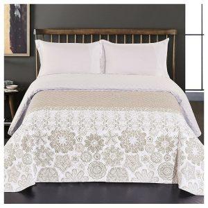 DecoKing Přehoz na postel Alhambra béžová