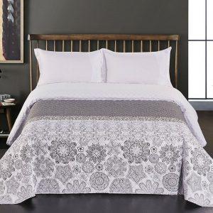 DecoKing Přehoz na postel Alhambra šedá