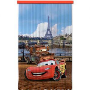 AG ART Dětský závěs Cars in Paris