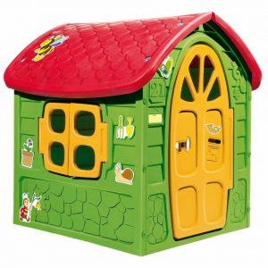 Dohány Dětský zahradní domeček zeleno-červený