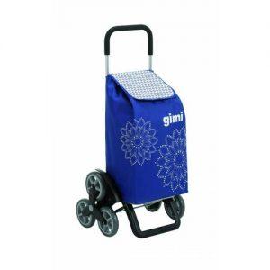 Gimi Nákupní taška na kolečkách Tris Floral modrá