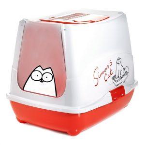 Karlie-Flamingo Toaleta pro kočky Simons červená