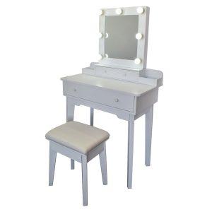 Kosmetický stolek se zrcadlem Beata